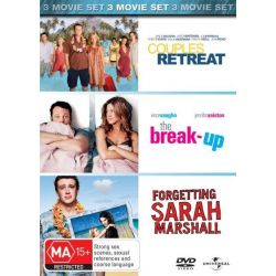 Couples Retreat / Forgetting Sarah Marshall / The Break Up on DVD.