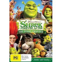 Shrek Forever After on DVD.
