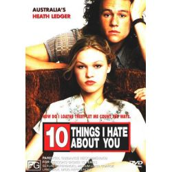10 Things I Hate About You on DVD.