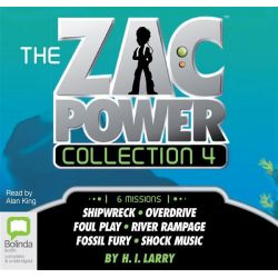 Zac Power Audio Book (Audio CD) by H. I. Larry, 9781486200474. Buy the audio book online.