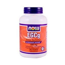 Now Foods, EGCg, Green Tea Extract, 400 mg, 180 Vcaps