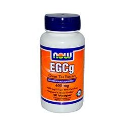 Now Foods, EGCg, Green Tea Extract, 90 Vcaps