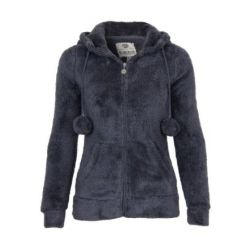 Sublevel Teddy Fleece Jacke mit Öhrchen