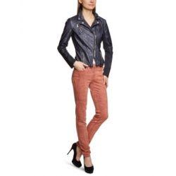 ONLY Damen Jacke 15072476/UNI PU TIGHT BIKER JKT OTW BB