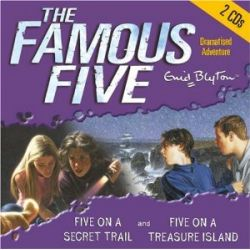 The Famous Five. Five on Treasure Island / Five on a Secret Trail. 2 CDs [Audiobook] [Englisch] [Audio CD] [Audiobook] [Englisch] [Audio CD]