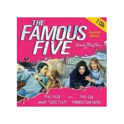 Five Run Away Together. 2 CDs: And Five on Finniston Farm (Famous Five) [Audiobook] [Englisch] [Audio CD] [Audiobook] [Englisch] [Audio CD]