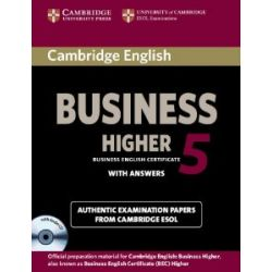Cambridge English Business 5 Higher Self-Study Pack (Student's Book with Answers and Audio CD) (Bec Practice Tests) [Englisch] [Audio CD] [Englisch] [Audio CD]