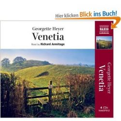 Venetia [Gekürzte Ausgabe, Audiobook] [Englisch] [Audio CD] [Gekürzte Ausgabe, Audiobook] [Englisch] [Audio CD]