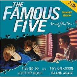 The Famous Five. Five Go to Mystery Moor / Five on on Kirrin Island. 2 CDs [Audiobook] [Englisch] [Audio CD] [Audiobook] [Englisch] [Audio CD]