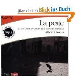 La peste [Audiobook] [Französisch] [Audio CD] [Audiobook] [Französisch] [Audio CD]