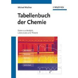 Bücher: Tabellenbuch der Chemie  von Michael Wächter