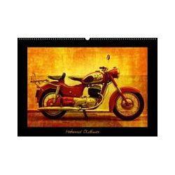 Bücher: Motorrad Oldtimer (Posterbuch DIN A4 quer)  von Gabi Siebenhühner