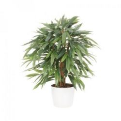 Weeping-Ficus Kunstpflanze 80cm im Topf