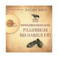 Hörbücher: Die unwahrscheinliche Pilgerreise des Harold Fry (Hörbestseller)  von Rachel Joyce