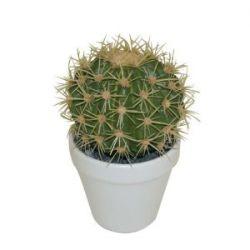 Greemotion 603007 Kunstpflanze Kaktus mit gelben / roten Stacheln