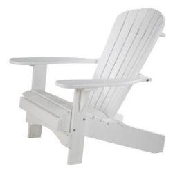 """Adirondack Chair """"Comfort"""" in weiß"""