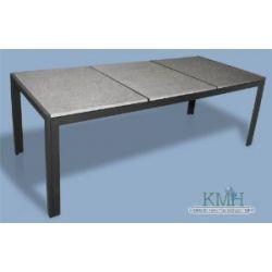 Gartentisch mit 3 massiven Granitplatten! / Granittisch / Tisch / anthrazit / Granit