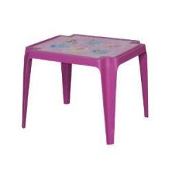 Progarden 943 Kindertisch Tavolo Baby 'Princess', Vollkunststoff, 50 x 55 x 45 cm, rosa