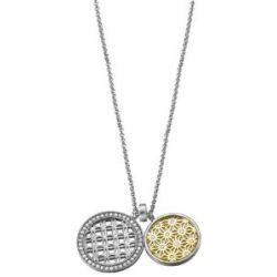 Esprit Damen-Halskette Star Flash Gold 925 Sterling Silber 42 cm ESNL92023B420