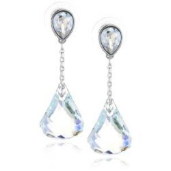 Swarovski Damen-Ohrhänger Lunar Light Azore Moonlight in Rhodium 1119274