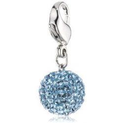 Swarovski Damen-Charm Swarovski-Kristall Metall blau Blue Pop 1141963