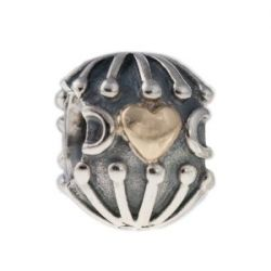 Pandora Damen-Bead Sterling-Silber 925 Pandora Element 7943 KASI 79430