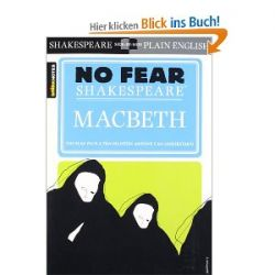 No Fear Shakespeare: Macbeth (Sparknotes No Fear Shakespeare) [Englisch] [Taschenbuch] [Englisch] [Taschenbuch]