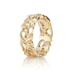 Pandora Damen-Ring Gold 14k Größe 55 150114D-55