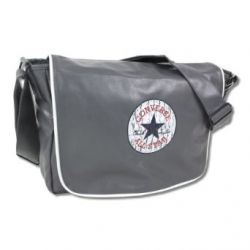 Converse Laptop Tasche Shoulder Flap Bag medium grey - 40 cm x 30 cm x 10 cm