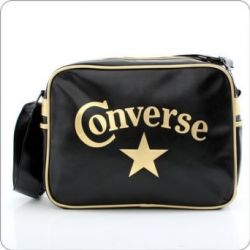 Converse Tasche - Star Reporter - Black Gold +++ CV13E354
