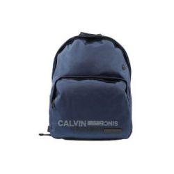 Calvin Klein Nylon Rucksack Herren Tasche Laptop Schulrucksack blu