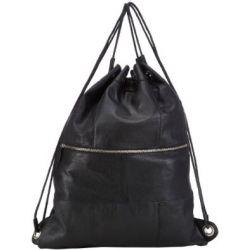 PIECES SIFF LEATHER GYM BAG 17053760 Damen Rucksackhandtaschen 39x49x13 cm (B x H x T)