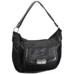 Gabor EMILIA Handtasche, schwarz 6550 60, Damen Shopper 38x33x13 cm (B x H x T)