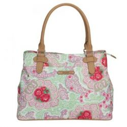 Oilily Apron Shopper - Green