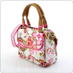Oilily Fantasy Flora S Handbag - Cream