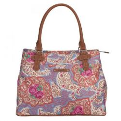 Oilily Apron Shopper - Blue
