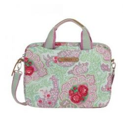 Oilily Apron Laptop Bag 10,2 - Green