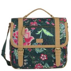 Oilily Paisley Flower M Shoulderbag - Green