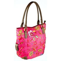 Oilily Colored Dreams Shopper - Pink