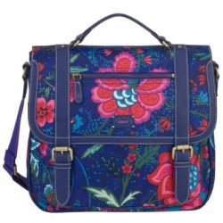 Oilily Paisley Flower M Shoulderbag - Blue