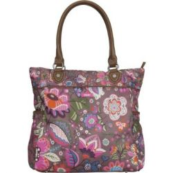 Oilily Winter Blossom Shopper - Wood