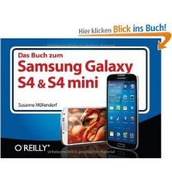 Das Buch zum Samsung Galaxy S4 & S4 mini [Broschiert] [Broschiert]
