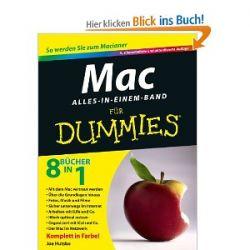 Mac für Dummies, Alles-in-einem-Band [Taschenbuch] [Taschenbuch]