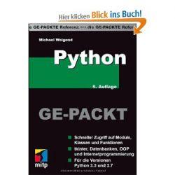 Python GE-PACKT (mitp Ge-packt) [Broschiert] [Broschiert]