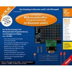 Lernpaket Mikrocontroller-Progammierung in Bascom und C - Platine mit ATmega8 und LED-Display [Zubehör] [Zubehör]