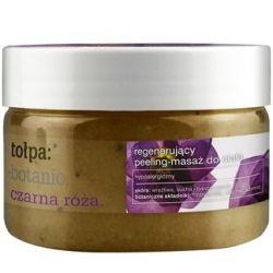 tołpa: botanic, czarna róża. regenerujący peeling-masaż do ciała 180g