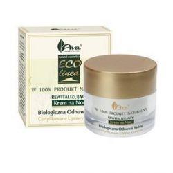 AVA Rewitalizujący krem na noc Certyfikowany Kosmetyk Naturalny