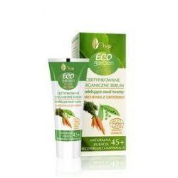 AVA Certyfikowane organiczne serum modelujące owal twarzy marchewka z groszkiem 45+