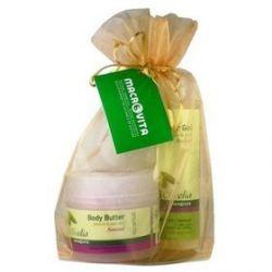 Zestaw Olivelia dla zmysłów: masło do ciała SENSUAL 200ml + żel pod prysznic SENSUAL 200ml