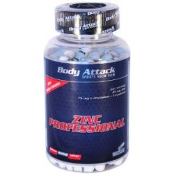 Body Attack Zinc Professional (180) 180 Kapseln, 1er Pack (1 x 155 g)